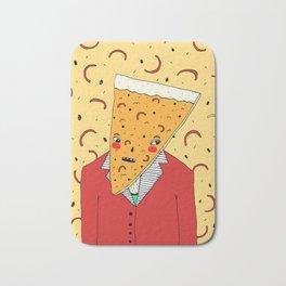 Pizza Head Bath Mat