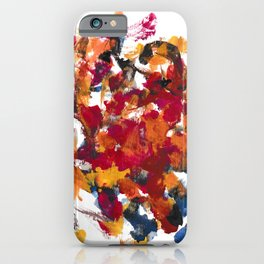 Up High Abstract iPhone Case