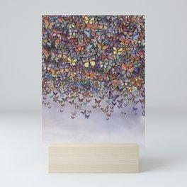 butterfly cascade Mini Art Print