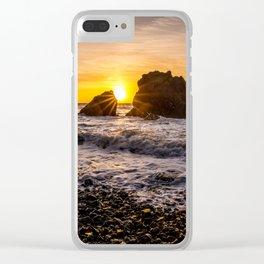 Copper Coast Sunrise 3 Clear iPhone Case