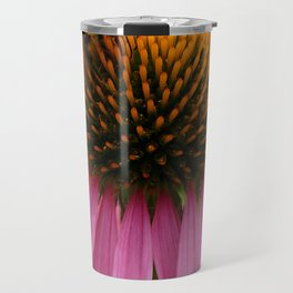 Coneflower with Bee Travel Mug
