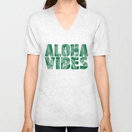 Aloha Vibes Unisex V-Neck