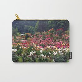 Impresion of a Rose Garden Carry-All Pouch