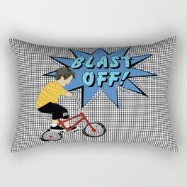 Pop a Wheelie Rectangular Pillow