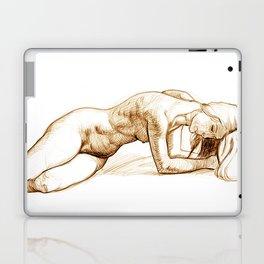 Laying Laptop & iPad Skin