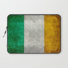 Flag of the Republic of Ireland, Vintage style Laptop Sleeve