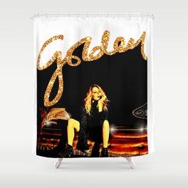 Kylie Minogue Golden 2018 Shower Curtain