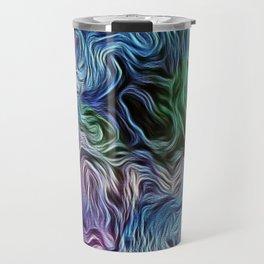 Turquoise Of Pastel Travel Mug