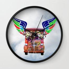 Peace Buster Sky Wall Clock