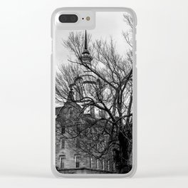 Trans Allegheny Lunatic Asylum Clear iPhone Case