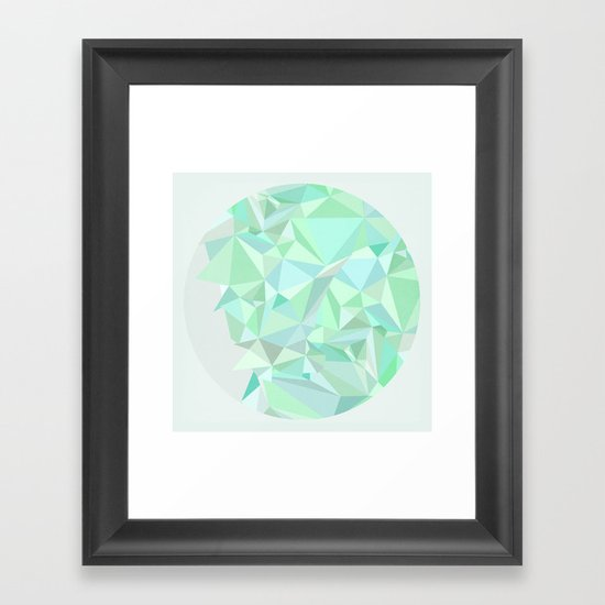 Circle 1 Framed Art Print