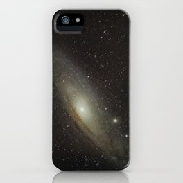 Andromeda Galaxy 12-21-17 iPhone Case