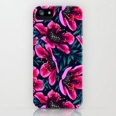 Manuka Floral Print iPhone (5, 5s) Slim Case