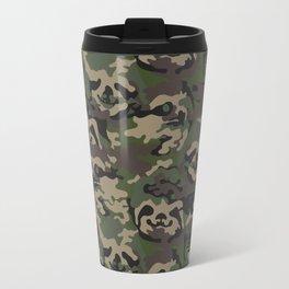Sloth Camouflage Travel Mug