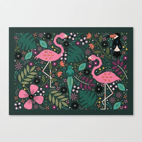 Spirit of the Jungle Canvas Print