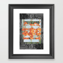 Graceless Framed Art Print