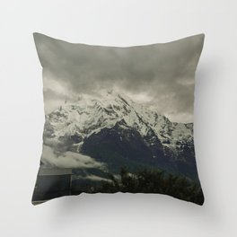 The Call of the Mountain 003 Throw Pillow
