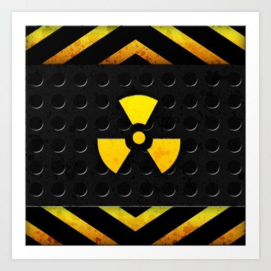 Nuclear Reactor Art Print