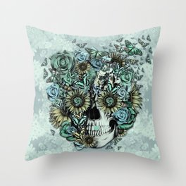 The Only Constant is Change Throw Pillow