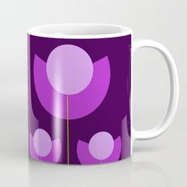 Abstract purple Tulips Coffee Mug