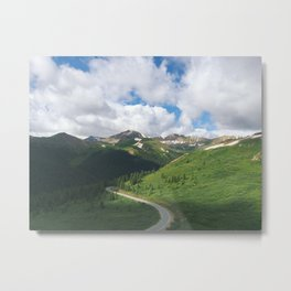 Independence Pass Metal Print