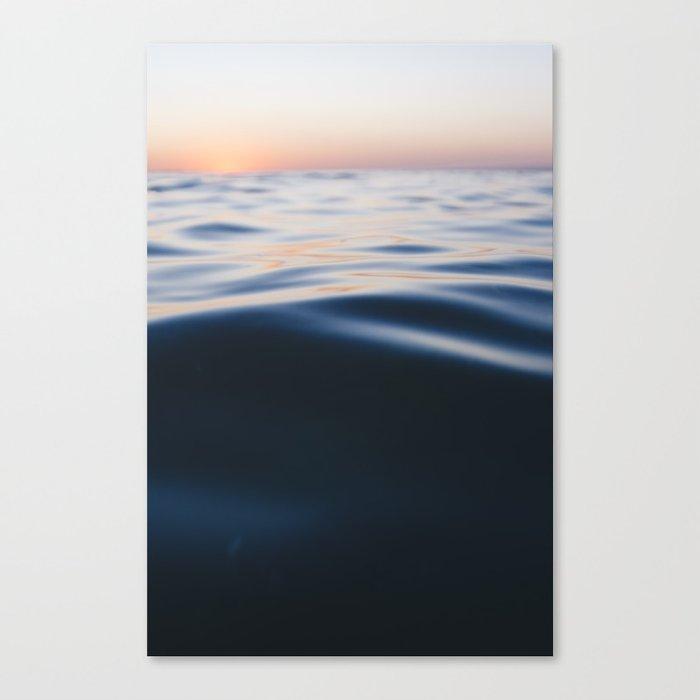 oceanic nuances Canvas Print