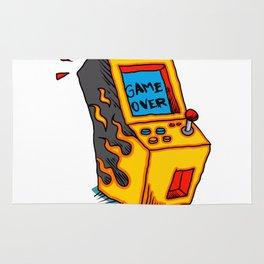 Vintage Arcade game Machine Rug