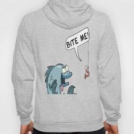 Bite Me Fishing Bait Hoody