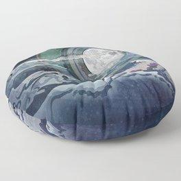 Moon Glow III Floor Pillow