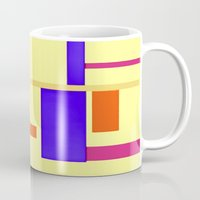 geo Mugs featuring Geo by lillianhibiscus