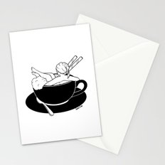 Cappuccino Bath Stationery Cards