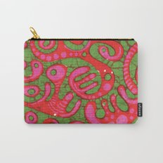 Doublewide Goove Batik Carry-All Pouch