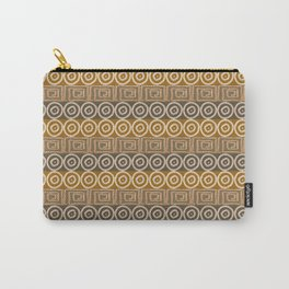 Ethnic african tribal hand-drawn pattern Carry-All Pouch