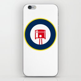 Piston roundel iPhone Skin