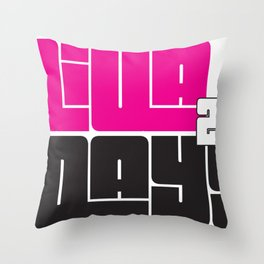 Diva Days Milwaukee 2013 Throw Pillow