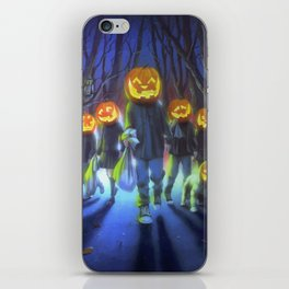 Attack of the Jack-O-Lanterns iPhone Skin