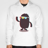 monster Hoodies featuring MONSTER 3d by Monster Riot
