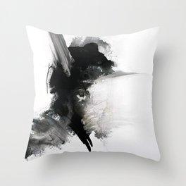 Black Leader Throw Pillow