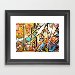 Ballard Bridge Framed Art Print