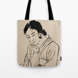 Lady Elegance Tote Bag