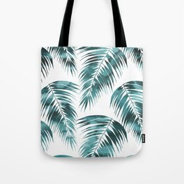 Maui Palm Leaf 2 green Tote Bag