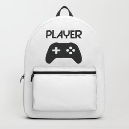 Player Text and Gamepad Backpack