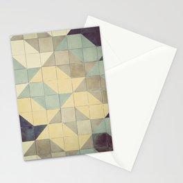 São Paulo Tile Pattern Stationery Cards