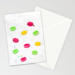 Macaron Papercut Stationery Cards