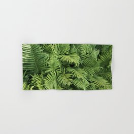 Fern Leaves Photography Hand & Bath Towel