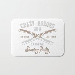 CRAZY RAZORS SHOW EXTREME WHITE Bath Mat