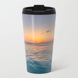 Sunset Ocean Metal Travel Mug