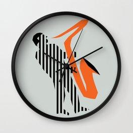 Vintage poster-Jazz festival-Newport beach 2. Wall Clock