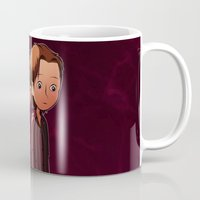 winchester Mugs featuring Winchester brothers by Kaori