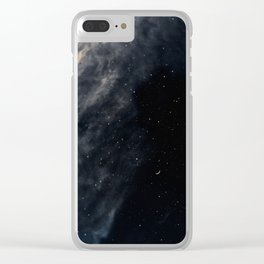 Melancholy Clear iPhone Case